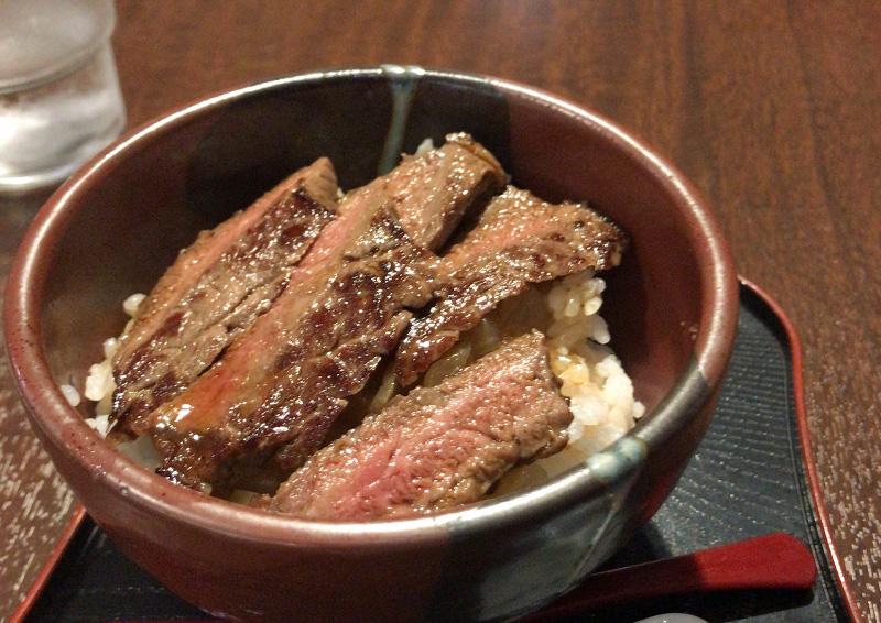 やま吉 那須本店 ステーキ丼(並)