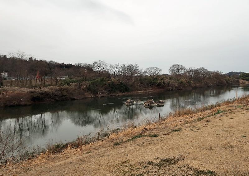 安達ヶ原ふるさと村 河川敷公園