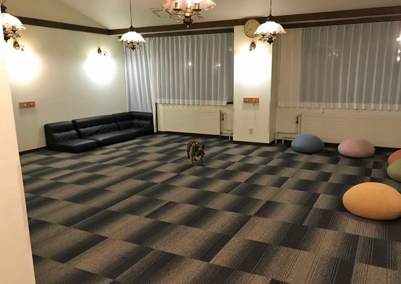 ペット&スパホテル 那須ワン 室内ドッグラン